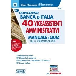 Concorso Banca d'Italia 40...
