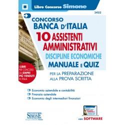 Concorso Banca d'Italia -...